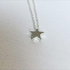 "Jewelry - New ""My Silver Star"" Necklace"